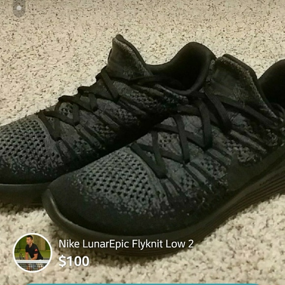 outlet store 31357 6ccd3 Nike LunarEpic Low Flyknit 2